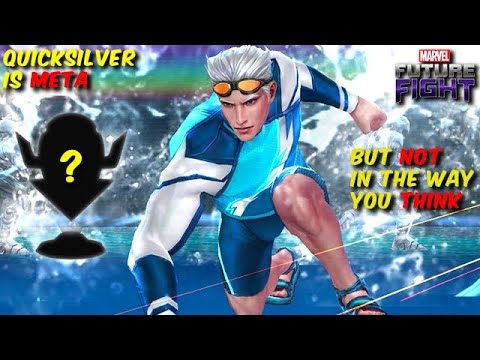 QUICKSILVER might be the BEST HERO for this game mode...  - Marvel Future Fight