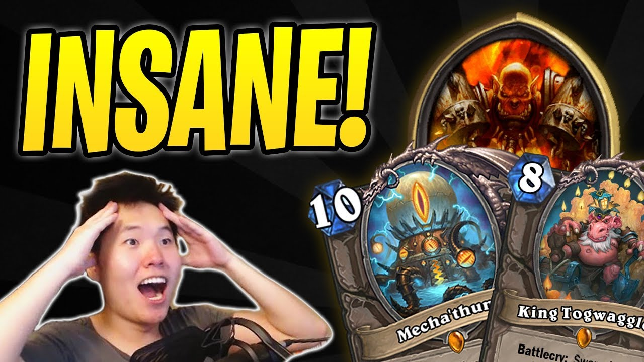 Most INSANE Hearthstone Game of my Life! | Mecha'thun | Dr. Boom | Boomsday Project | Best Deck