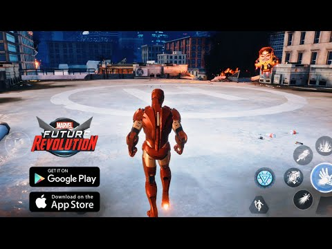 Marvel Future Revolution (Android/iOS) First Gameplay - Open World Action RPG