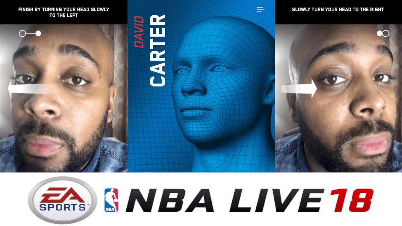 NBA LIVE 18 FACE SCAN TUTORIAL! How To Get Mobile App + Tips and Tricks | iPodKingCarter