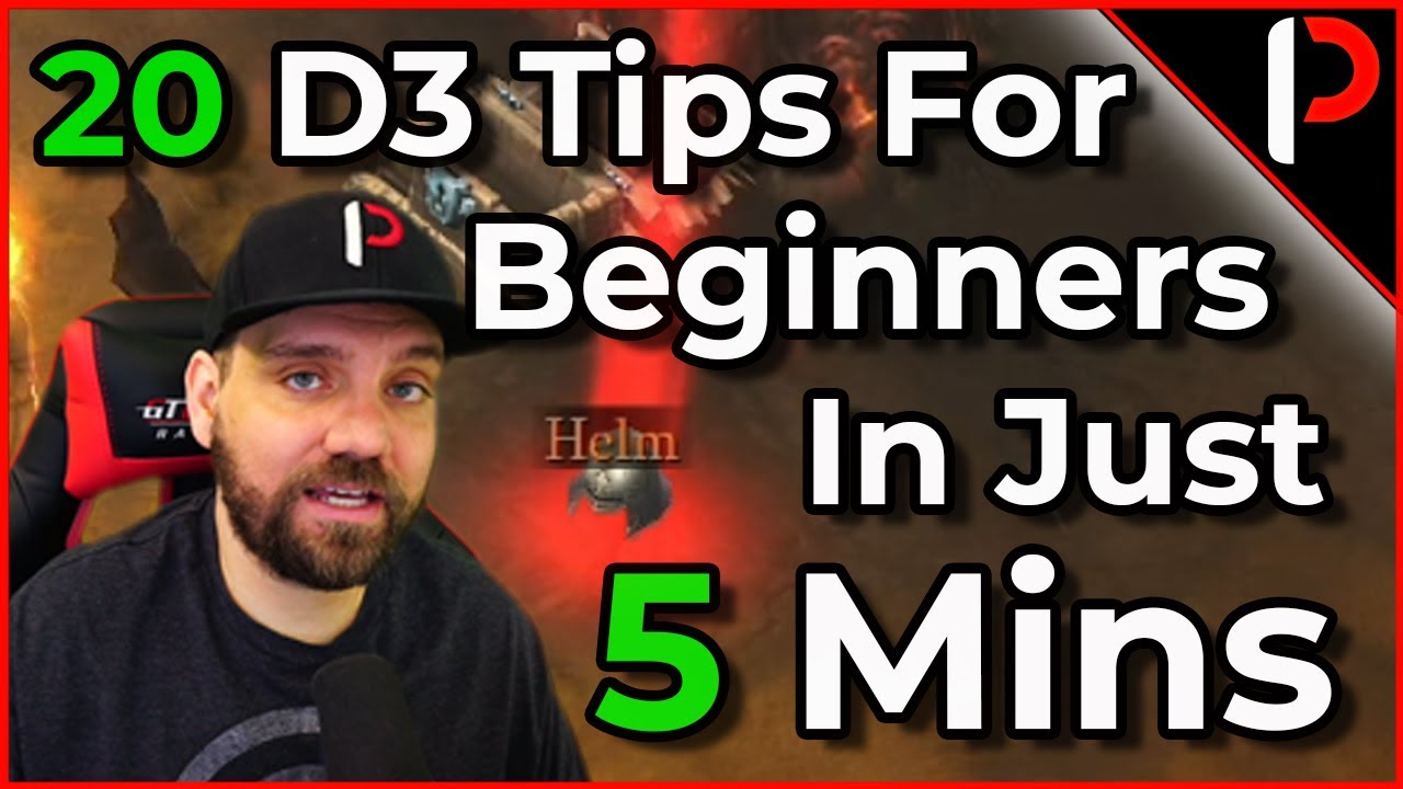20 Tips in 5 Minutes All Diablo 3 Players should know! (2020)