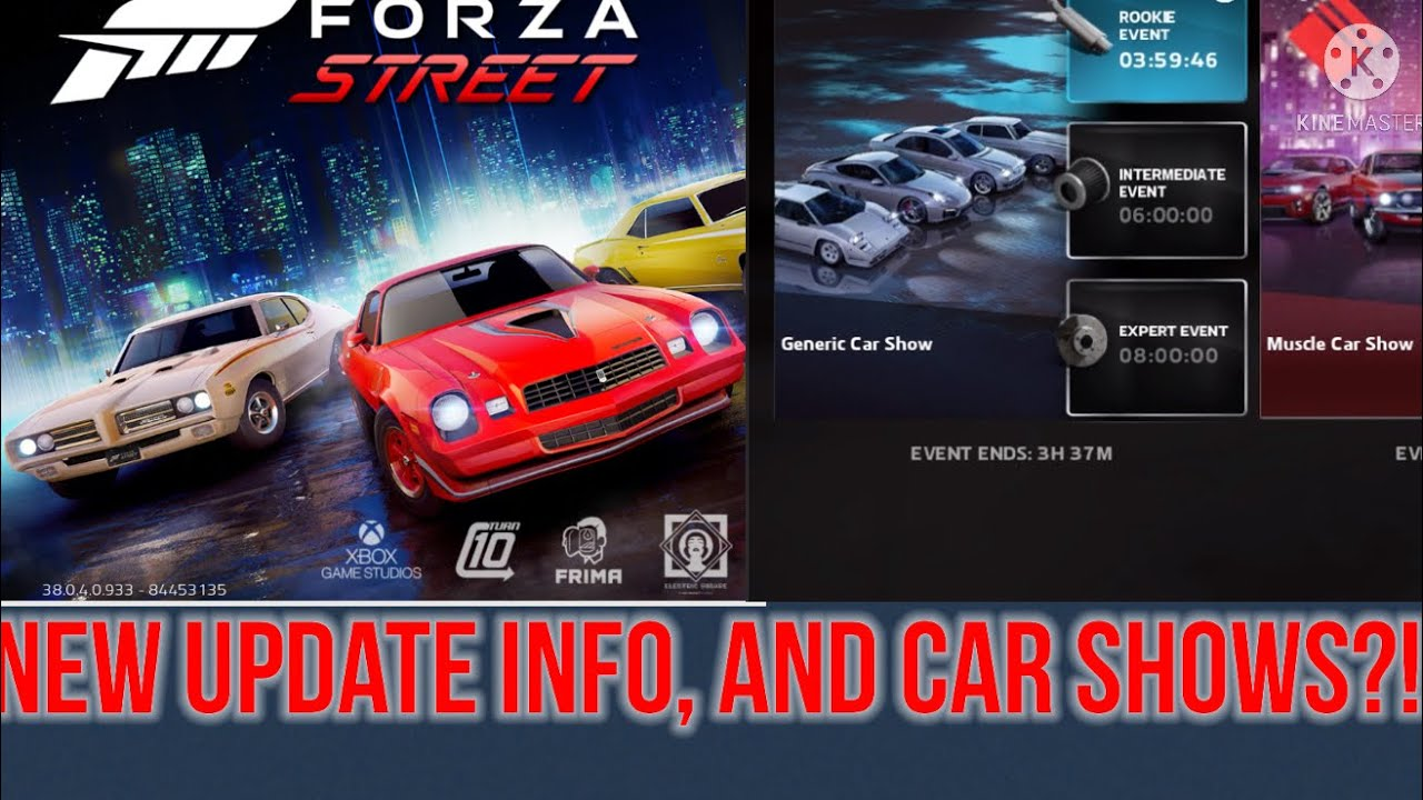[19] - FORZA Street New Update Feature! (Car shows!)