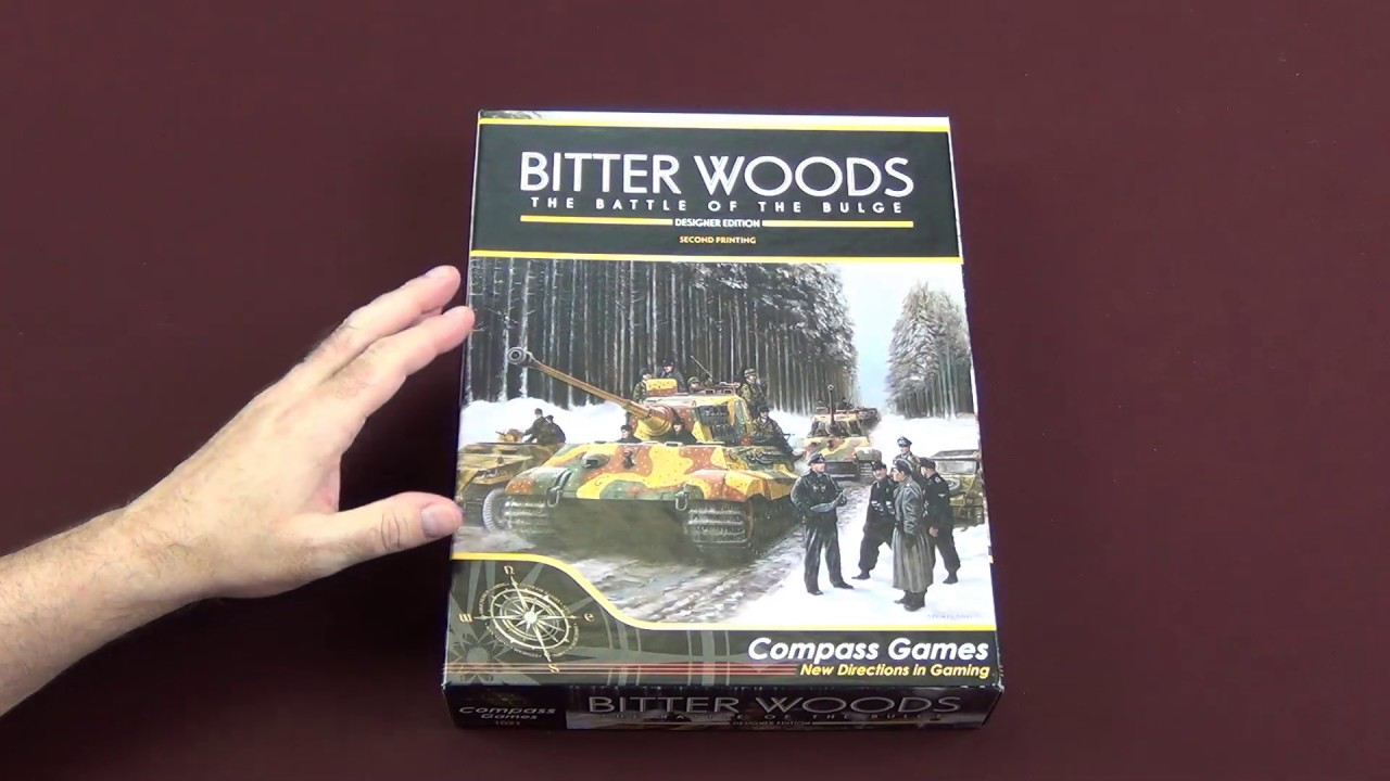 Bitter Woods Designer Edition from Compass Games Preview